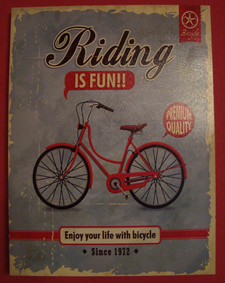 "Bild ""Bicyle - Riding is fun"""